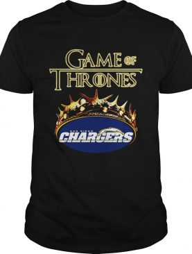 Game of Thrones Los Angeles Chargers mashup shirt