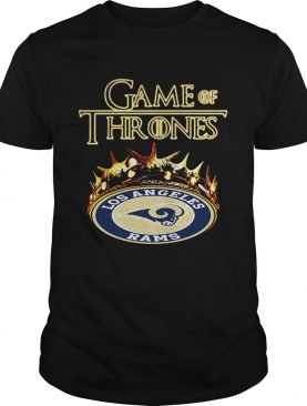 Game of Thrones Los Angeles Rams mashup shirt