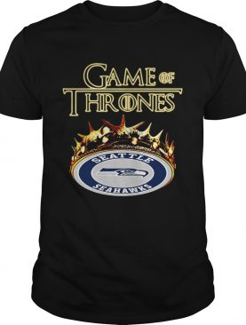 Game of Thrones Seattle Seahawks mashup shirt