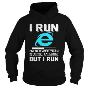 I run Im slower than internet explorer on a 90s dial up connection but I run hoodie