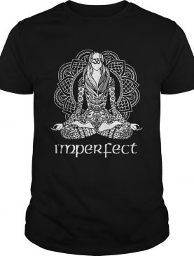 I'm perfect Funny Mandala Yoga T-Shirt