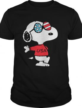Independence Day 4th Of July Usa Snoopy Shirt