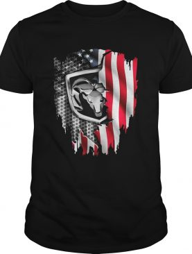 Independence Day 4th of July Dodge Ram Head America Flag shirt