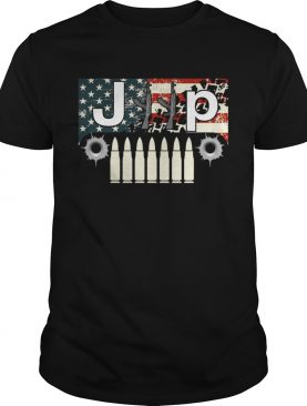 Jeep guns flag America shirt
