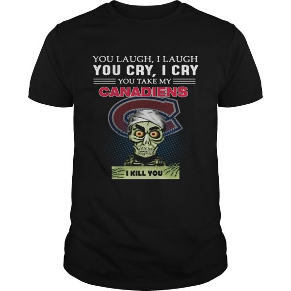 Jeff Dunham Achmed the Dead Terrorist laugh cry Montreal Canadiens I kill you unisex
