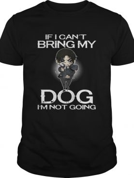 John Wick if I can't bring my dog I'm not going shirt