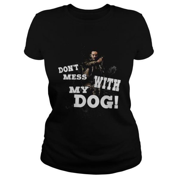 John wick dont mess with my dog ladies tee