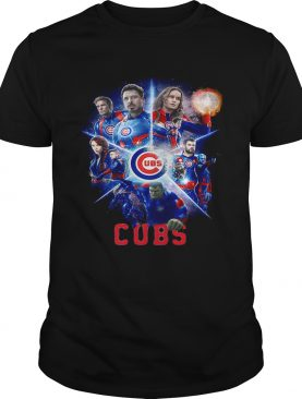 Love both Chicago Cubs and Avengers Endgame shirt