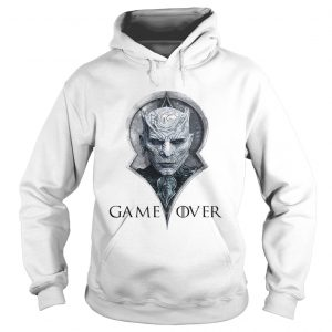Night king game over Game of Thrones hoodie