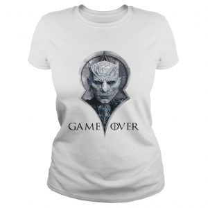 Night king game over Game of Thrones ladies tee
