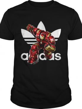 Official Adidas MCU Iron Man Hulk Buster Marvel shirts