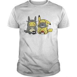 Pikachu and Totoro we are best friend unisex