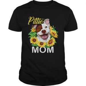 Pillie staffordshire Mom sunflowers unisex