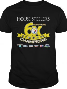 Pittsburgh Steelers House Steelers Super Bowl 6X Game of Thrones shirt
