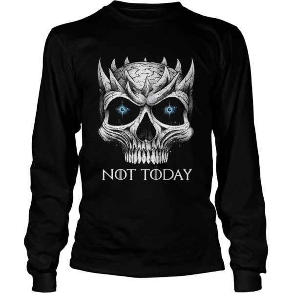 Punisher Night King not today longsleeve tee