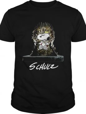 Snoopy King Schulz Game of Thrones shirt