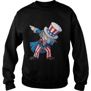 4th Of Julys For Kids Dabbing Uncle Sam Boys Gifts sweatshirt