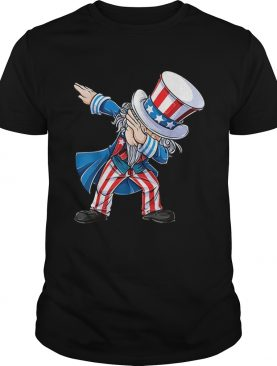 4th Of Julys For Kids Dabbing Uncle Sam Boys Gifts Shirt