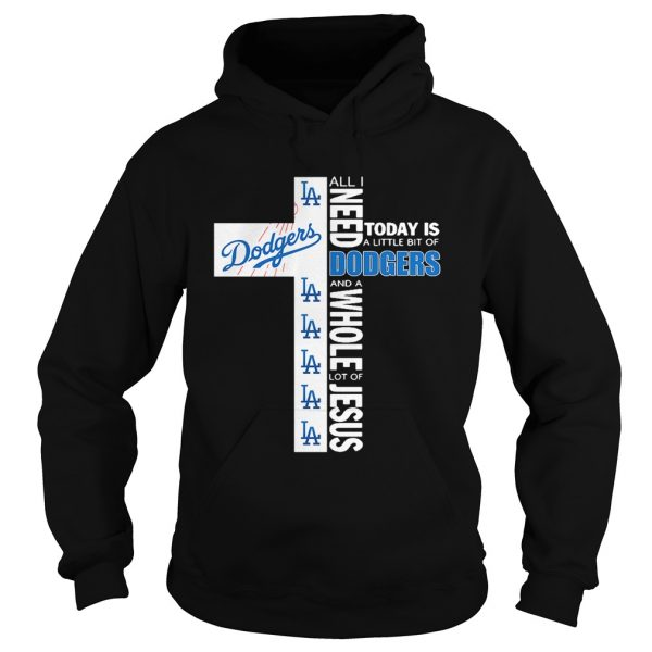 All I need today is a little bit of Los Angeles Dodgers and a whole lot hoodie
