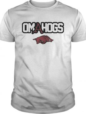 Arkansas Razorbacks college world series Omahogs shirt