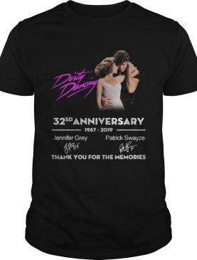 Dirty Dancing 32sd anniversary 1987 2019 signature thank you for shirt