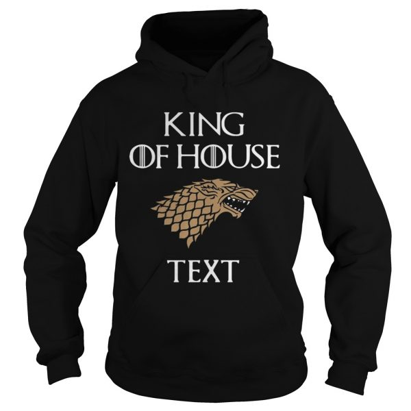 Game of Thrones king of house cruise hoodie