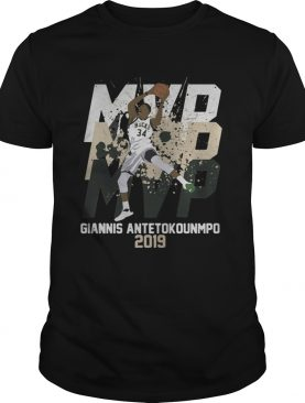 Giannis Antetokounmpo MVP 2019 Milwaukee Bucks shirt