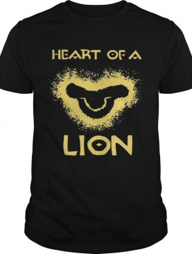 Heart Of A Lion The Lion King shirt