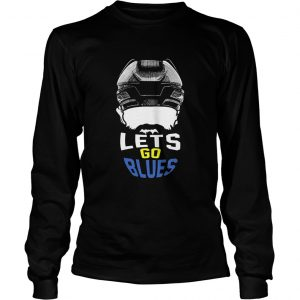 Lets Go St Louis Blues Hockey Fan Funny longsleeve tee