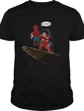 Lion King Spider Man And Iron Man hey everyone shirt