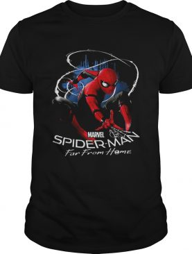 Marvel Spiderman Far From Home Contrasted Isolation shirt