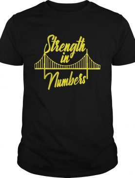 Official Golden State Warrior Strength In Numbers Shirt