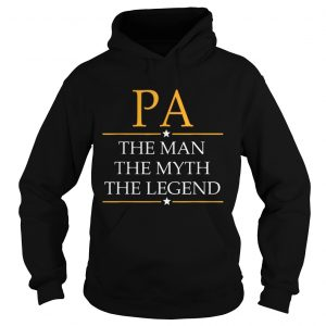 Pa The Man The Myth The Legend Father Day hoodie