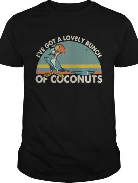 ParrotIve got a lovely bunch of coconuts retro shirt