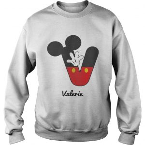 Personalized Name V Begins Mickey Hat Funny sweatshirt