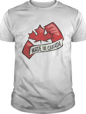 Premium Made In Canada Happy Canada Day Shirt