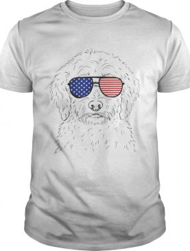 Premium Teddy The Labradoodle American Sunglasses Dog Shirt
