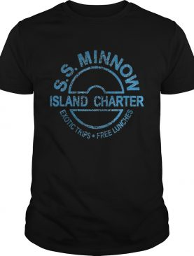S S minnow island charter exotic trips free lunches shirt