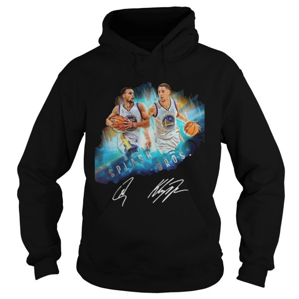 Splash BrothersSuper Splash Bros Klay Thompson Stephen Curry hoodie