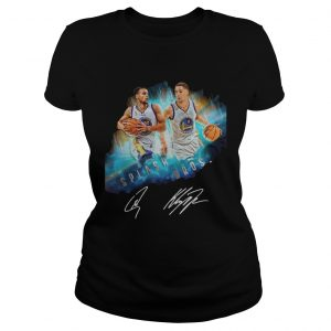Splash BrothersSuper Splash Bros Klay Thompson Stephen Curry ladies tee