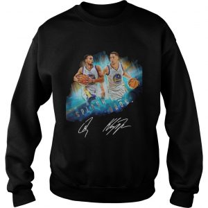 Splash BrothersSuper Splash Bros Klay Thompson Stephen Curry sweatshirt