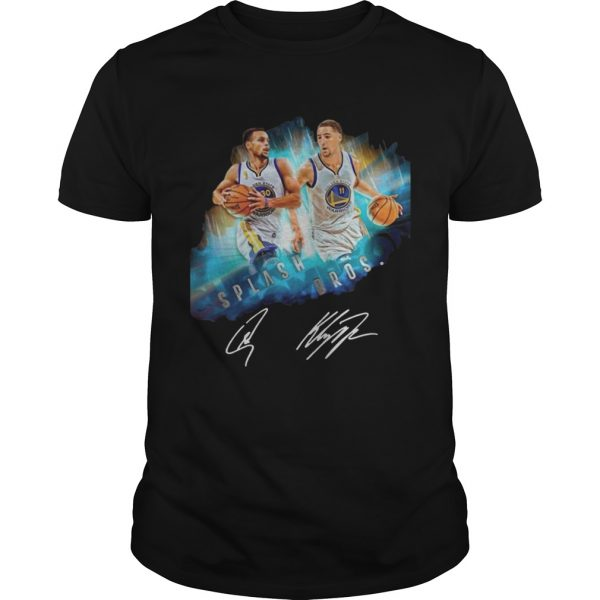 Splash BrothersSuper Splash Bros Klay Thompson Stephen Curry unisex