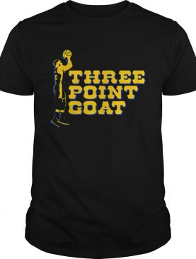 Steph Curry three point goat Golden State Warriors shirt