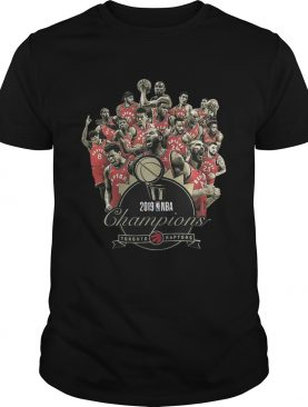 Toronto Raptors Champions of NBA 2019 shirt