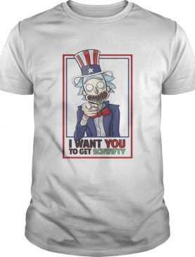 Uncle Rick I Want You To Get Schwifty Women Tshirt