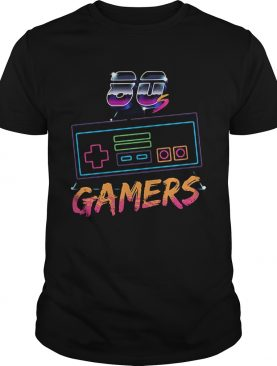 Video Games Flyer 1980s retro Gaming gamers shirt
