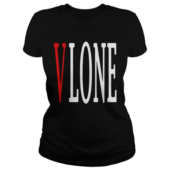Vlone red V ladeis tee