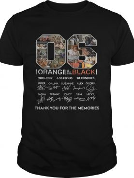 06 Orange Is the New Black 2013 2019 signature thank you for the shirt