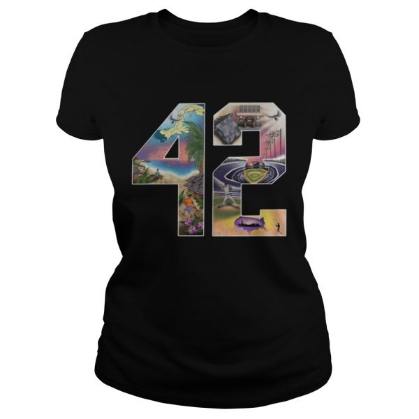 42 Mariano Rivera Foundation ladies tee