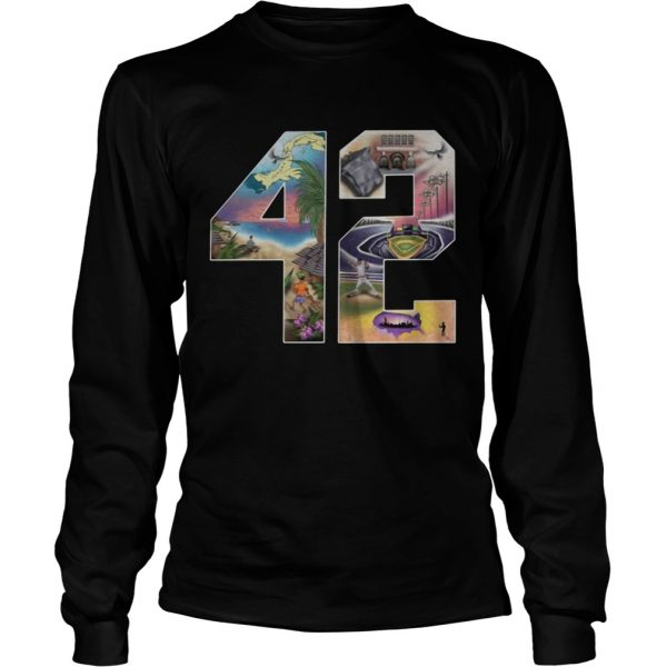 42 Mariano Rivera Foundation longsleeve tee